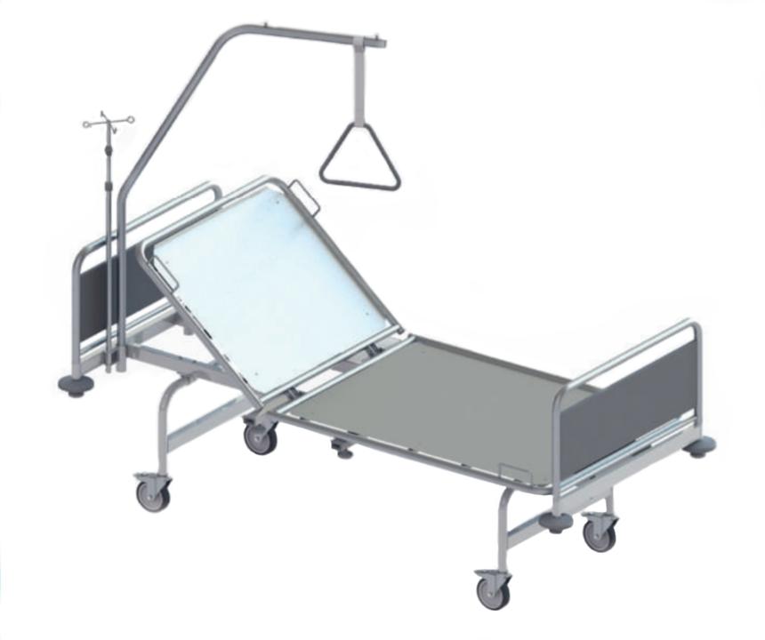 Роял Медикал Трейдинг: кровать медицинская функциональная секционной конструкции серия 112 купить в Санкт-Петербурге