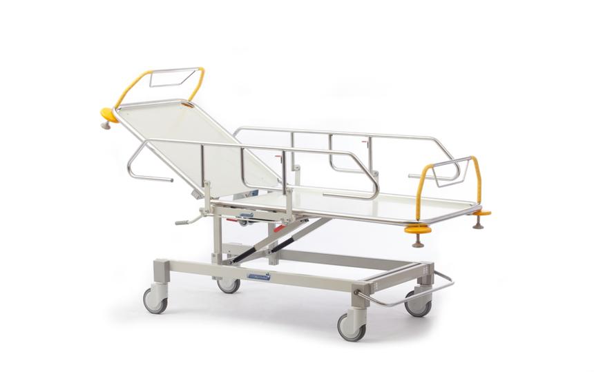 Роял Медикал Трейдинг: каталка больничная функциональная секционной конструкции серии 420 купить в Санкт-Петербурге