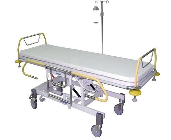 Роял Медикал Трейдинг: каталка больничная функциональная секционной конструкции серии 460 купить в Санкт-Петербурге
