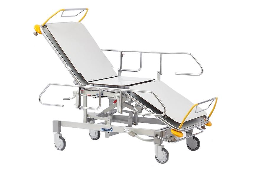 Роял Медикал Трейдинг: каталка больничная функциональная секционной конструкции серии 480 купить в Санкт-Петербурге