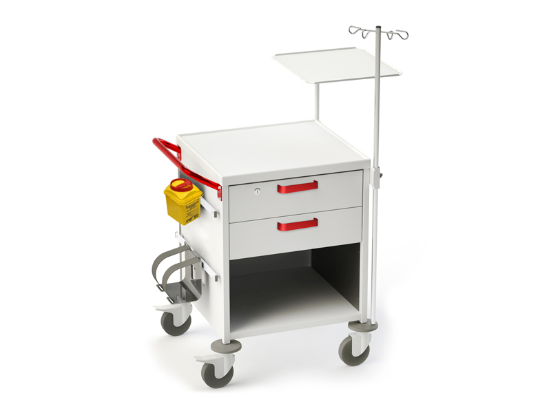 Роял Медикал Трейдинг: тележка медицинская функциональная тм-10 (для скорой помощи) купить в Санкт-Петербурге