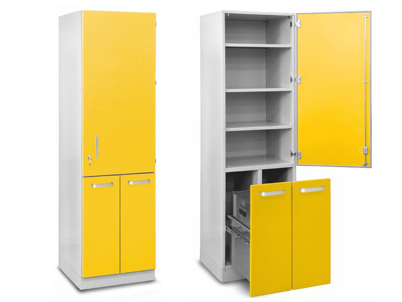 Роял Медикал Трейдинг: шкаф медицинский высокий для хранения медикаментов (с выдвижными секциями) купить в Санкт-Петербурге