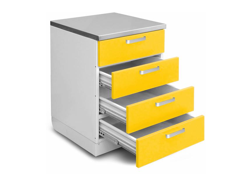 Роял Медикал Трейдинг: шкаф медицинский нижний для медикаментов (с ящиками) купить в Санкт-Петербурге