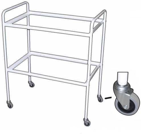 Роял Медикал Трейдинг: столик инструментальный м-138-01/01 каркас 3х полочный купить в Санкт-Петербурге