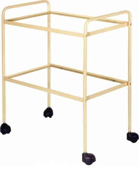 Роял Медикал Трейдинг: столик инструментальный м-138-01 3х полочный хром силвер 2 купить в Санкт-Петербурге