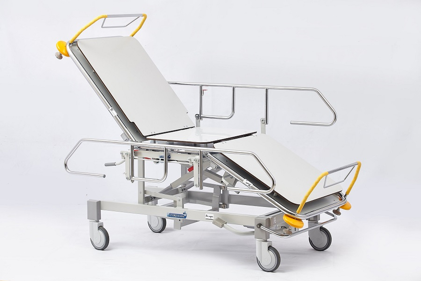 Роял Медикал Трейдинг: тележка для транспортировки пациента внутри отделения серия кб-480 купить в Санкт-Петербурге