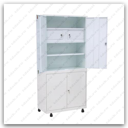 Роял Медикал Трейдинг: шкаф металлический с трейзером шмм.02.01 (мод.2) купить в Санкт-Петербурге