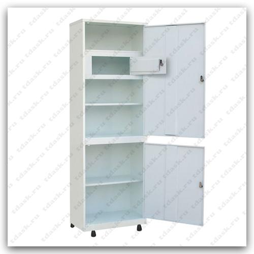 Роял Медикал Трейдинг: шкаф металлический с трейзером шмм.01.01 (мод.2) купить в Челябинске