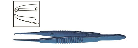 Роял Медикал Трейдинг: tmf473 пинцет склерально-шовной прямой, титановый купить в Санкт-Петербурге