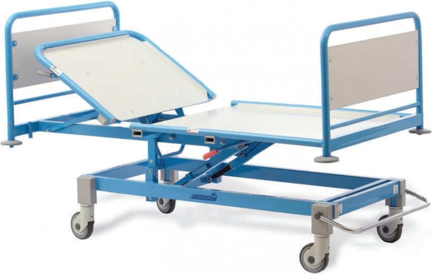 Роял Медикал Трейдинг: кровать медицинская функциональная секционной конструкции серия 220 (225) купить в Санкт-Петербурге