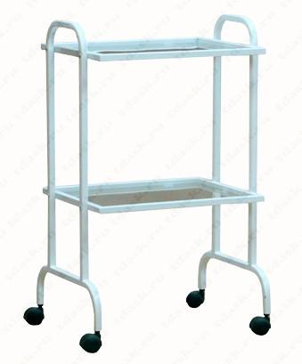 Роял Медикал Трейдинг: столик инструментальный си.02.00 с полками из стекла/нержавейки купить в Санкт-Петербурге
