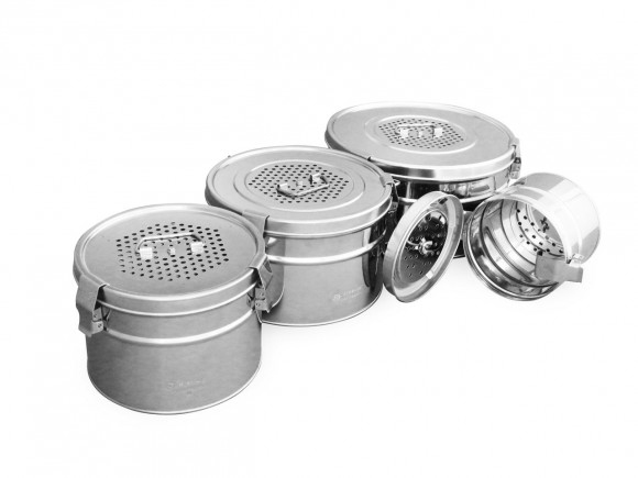 Роял Медикал Трейдинг: коробка стерилизационная круглая кскф-4 с фильтром купить в Санкт-Петербурге