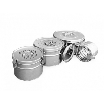 Роял Медикал Трейдинг: коробка стерилизационная круглая кскф-6 с фильтром купить в Екатеринбурге